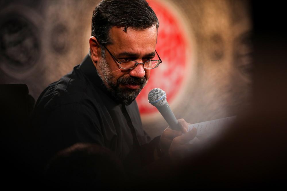 شور جدید اربعین با نوای حاج محمود کریمی(چهل شبانه روز غم...)