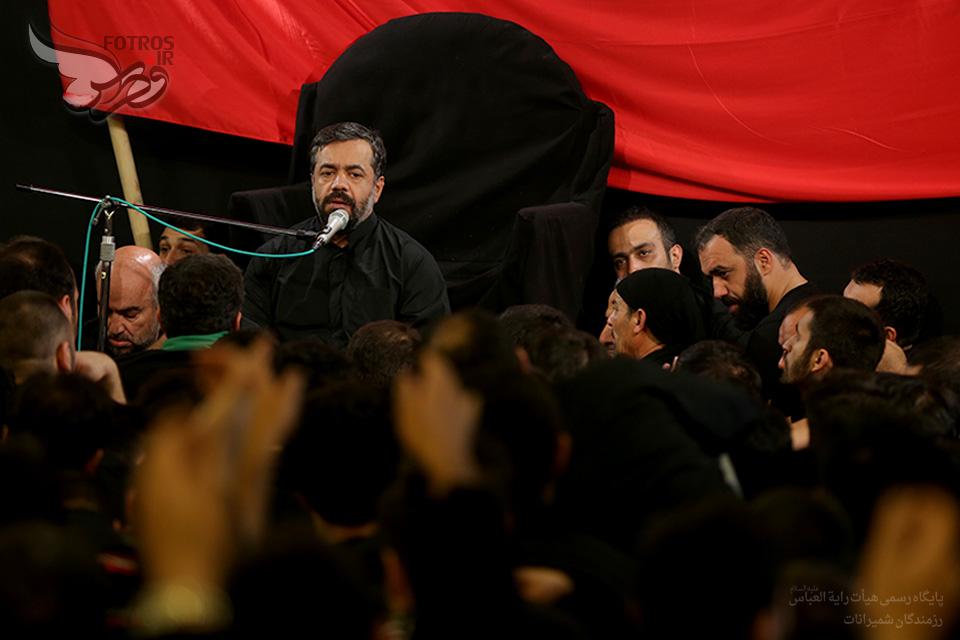 حاج محمود کریمی شام غریبان محرم الحرام 93 هیئت رایت العباس (ع)تهران