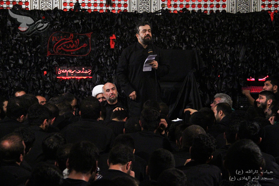 حاج محمود کریمی- شب شهادت امام سجاد(ع) ۱۳۹۳