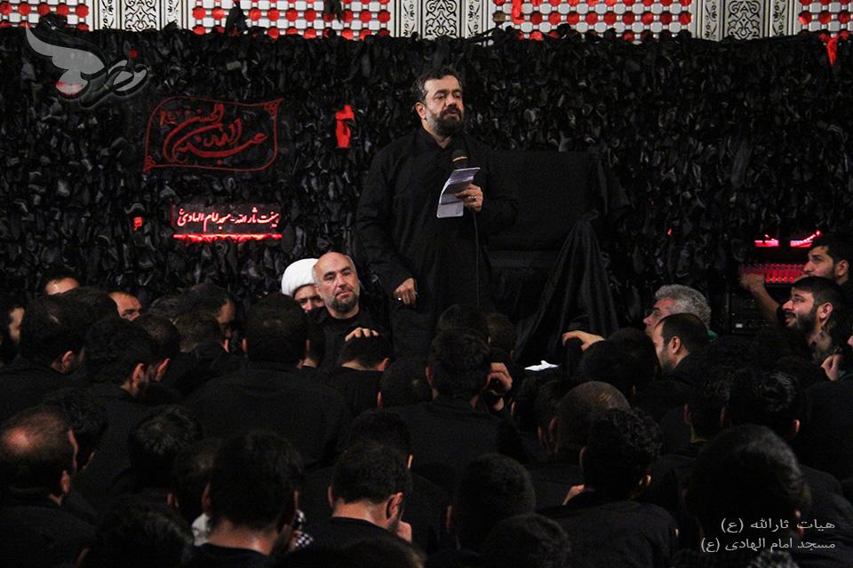 حاج محمود کریمی شب عاشورا محرم الحرام سال ۱۳۹۳ - الهادی