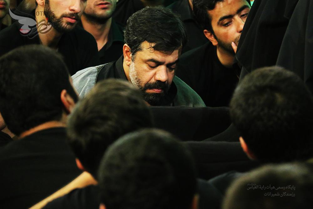 حاج محمود کریمی شب شهادت امام محمد باقر (ع) 93 مسجد حضرت امیر تهران